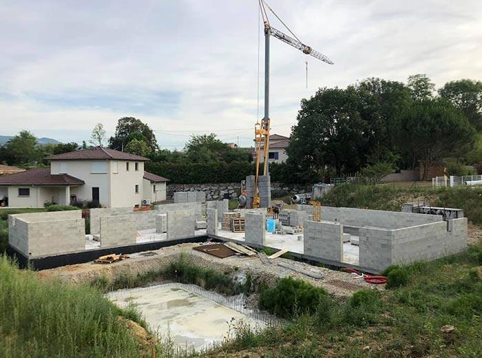 Entreprise de construction à Valence